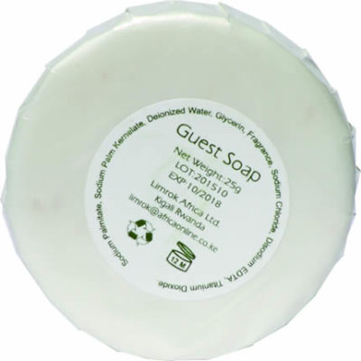 Round Soap 25gm Back